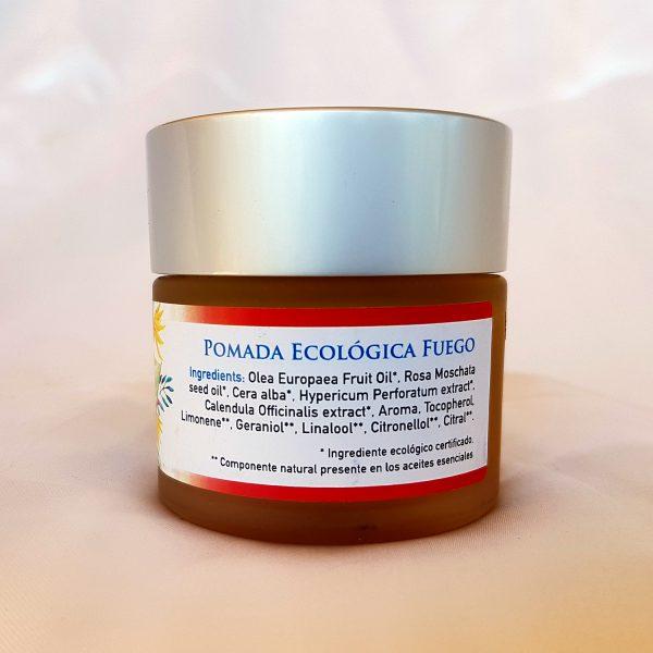 Pomada ecológica fuego